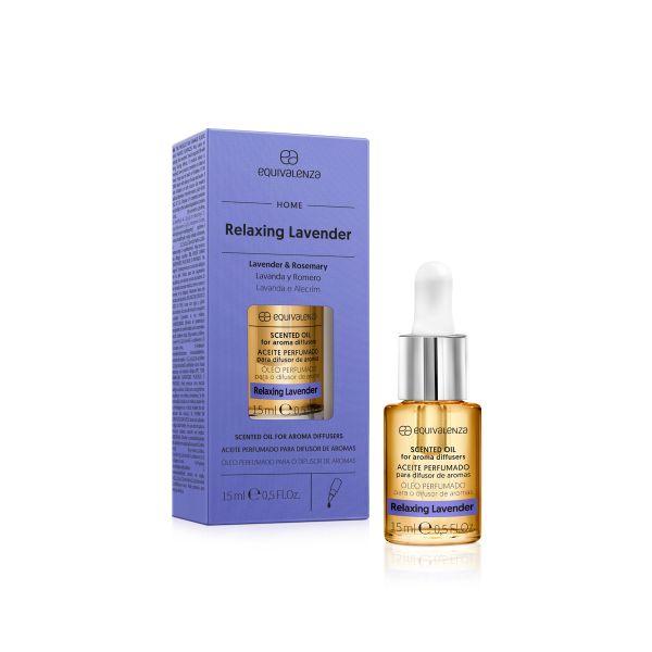 Óleo perfumado hidrossolúvel Relaxing Lavender (lavanda e alecrim)