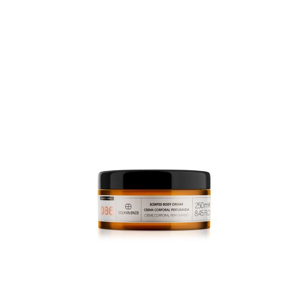 Crema corporal perfumada Black Label 086
