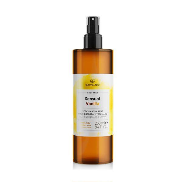 Body Mist Sensual Vanilla (vaniglia, orchidea e ambra)