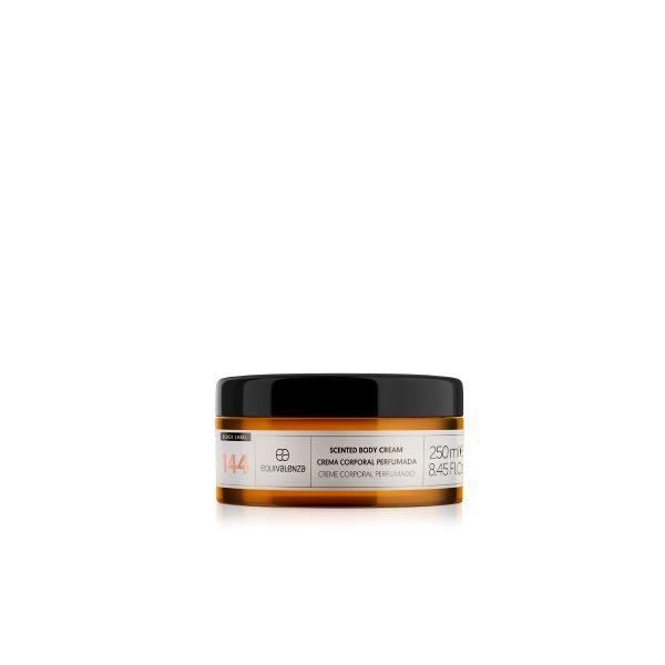 Crema corporal perfumada Black Label 144
