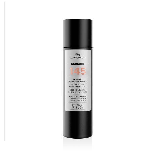 Desodorizante spray perfumado Black Label 145