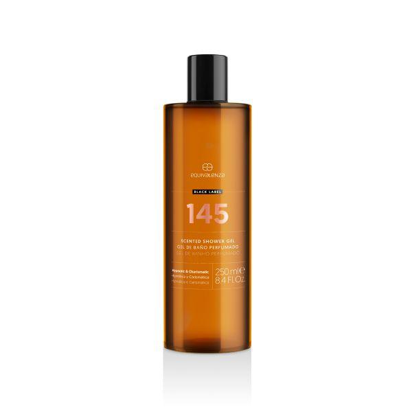 Gel de baño perfumado Black Label 145