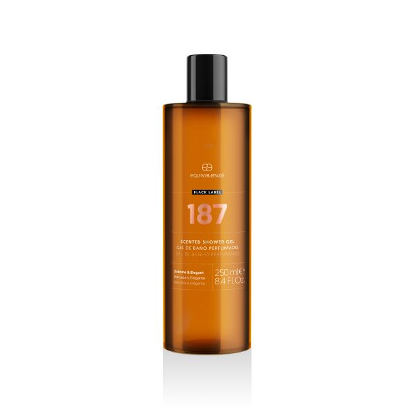 Gel de baño perfumado Black Label 187