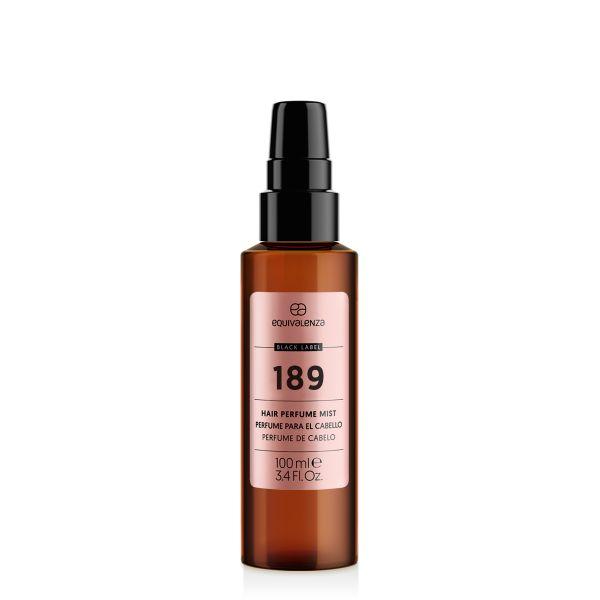 Perfume para el cabello Black Label 189