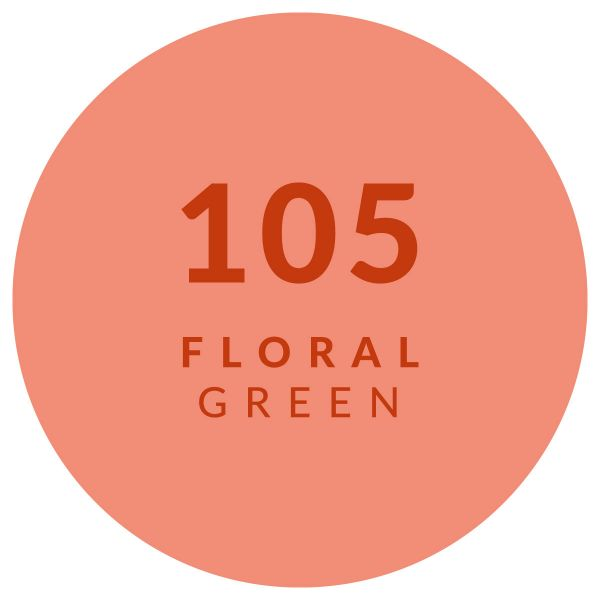 Floral Green 105