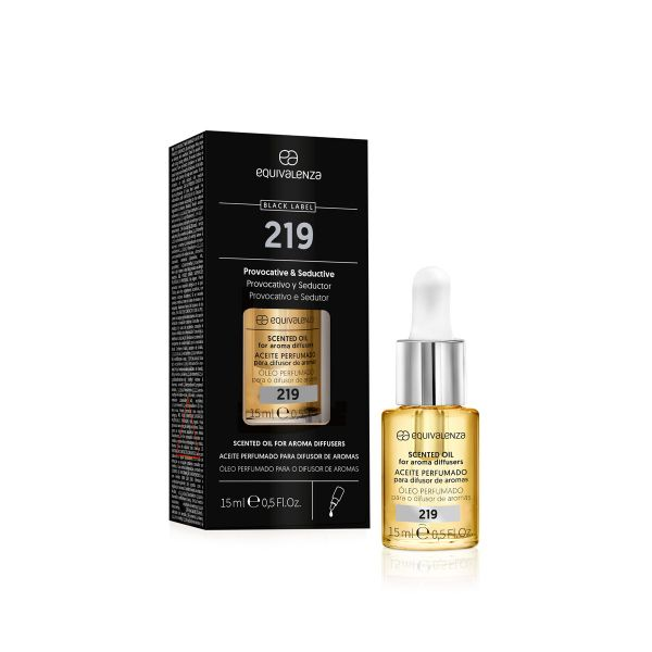 Aceite perfumado hidrosoluble Black Label nº 219