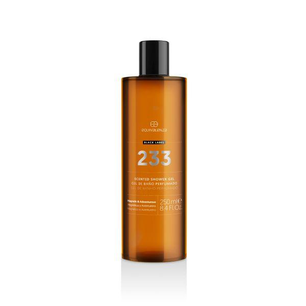 Gel de banho perfumado Black Label 233