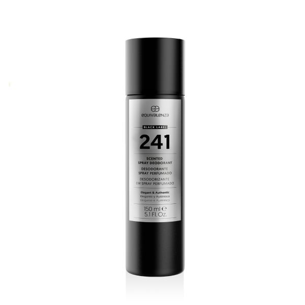Black label deodorant 241