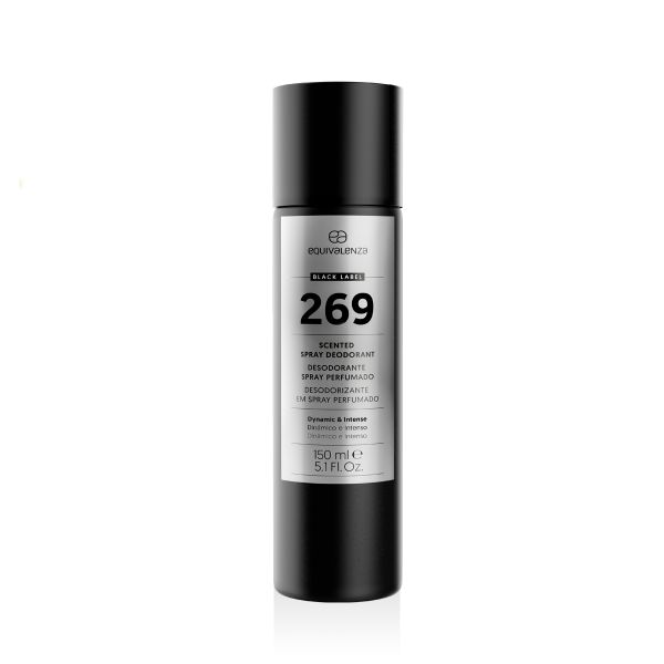 Desodorizante spray perfumado Black Label 269