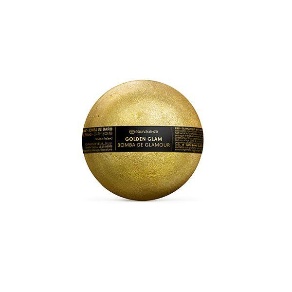 Bomba de baño Golden Glam