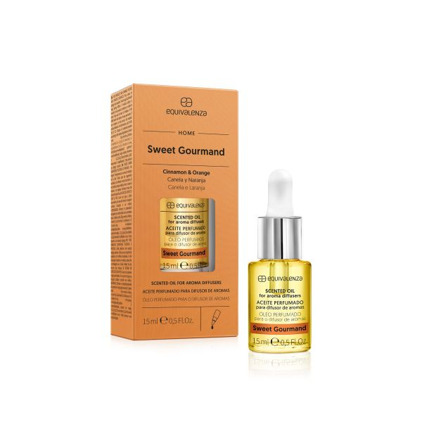 Aceite hidrosoluble perfumado Sweet Gourmant (canela y naranja)