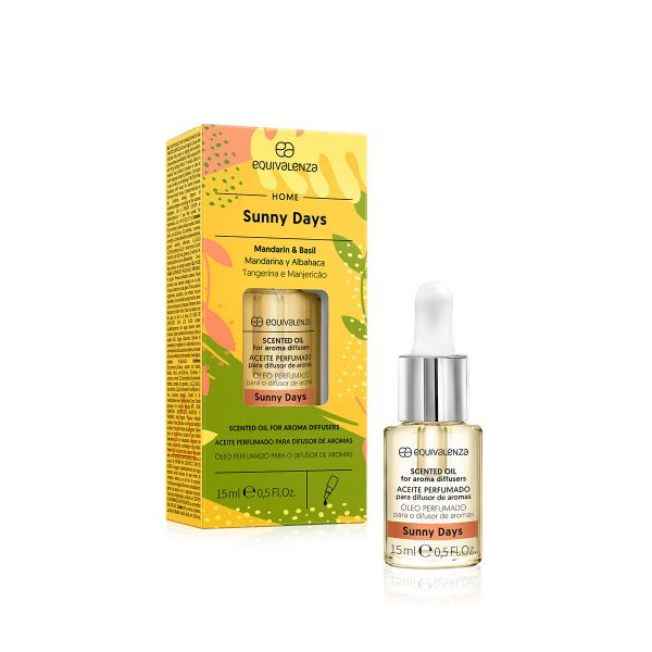 Sunny Days water-soluble scented oil (mandarin and basil)