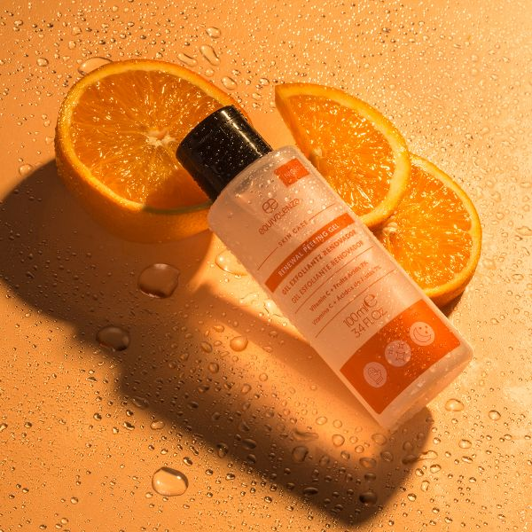 Renewing exfoliating gel