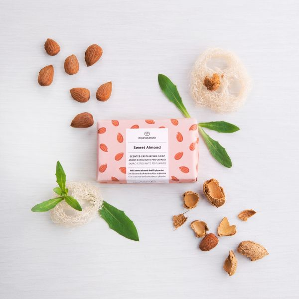 Sabonete esfoliante Sweet Almond