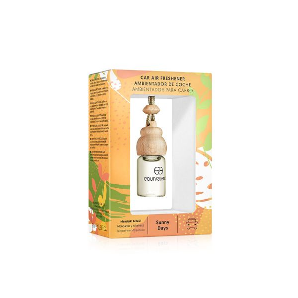 Sunny Days car air freshener (mandarin and basil)