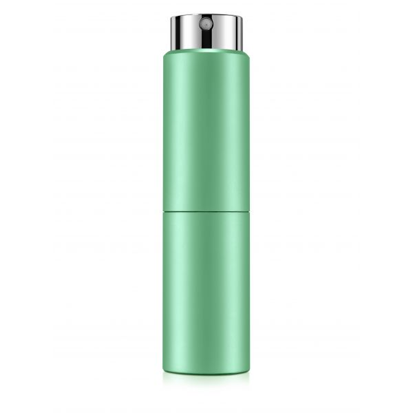 Green twist-up perfume vaporizer 15ml.