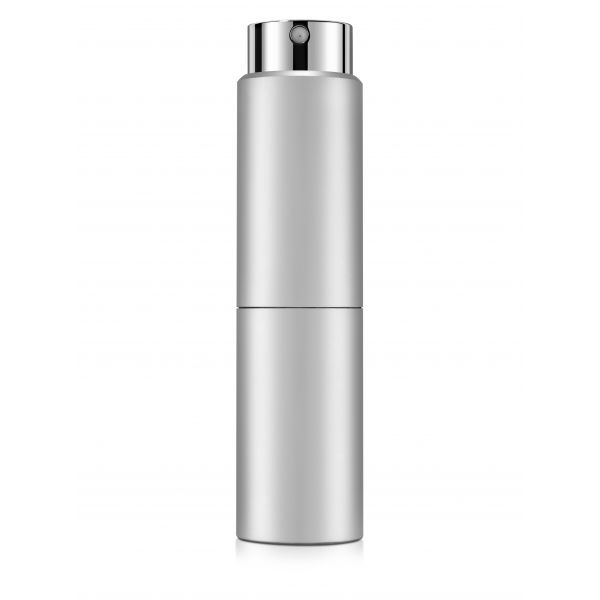 Silver twist-up perfume vaporizer 15ml.