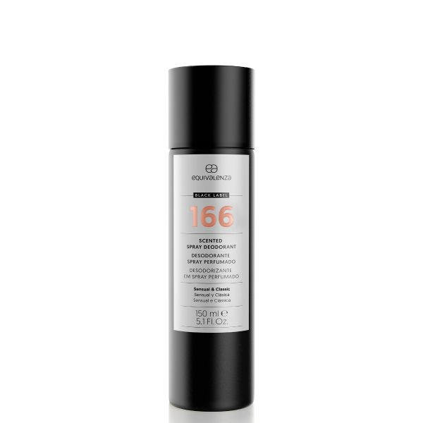 Desodorizante spray perfumado Black Label 166