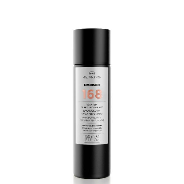 Black label deodorant 168