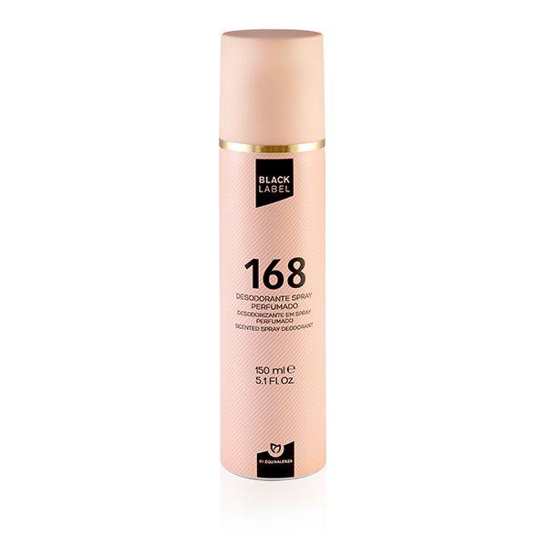 Desodorizante Black label 168