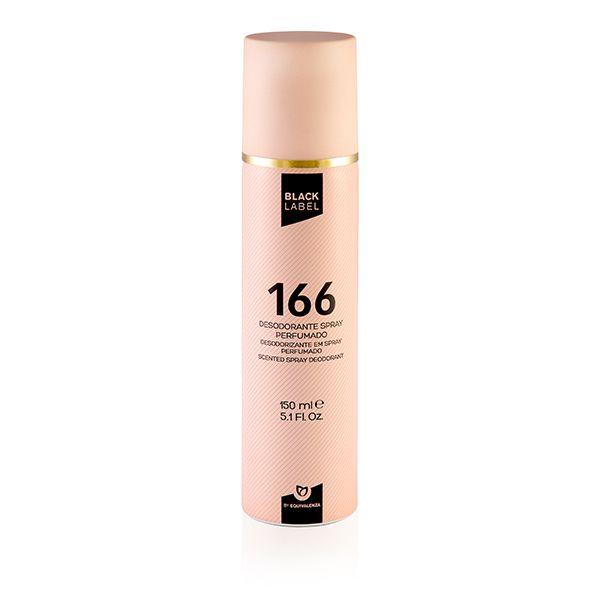 Desodorizante Black label 166