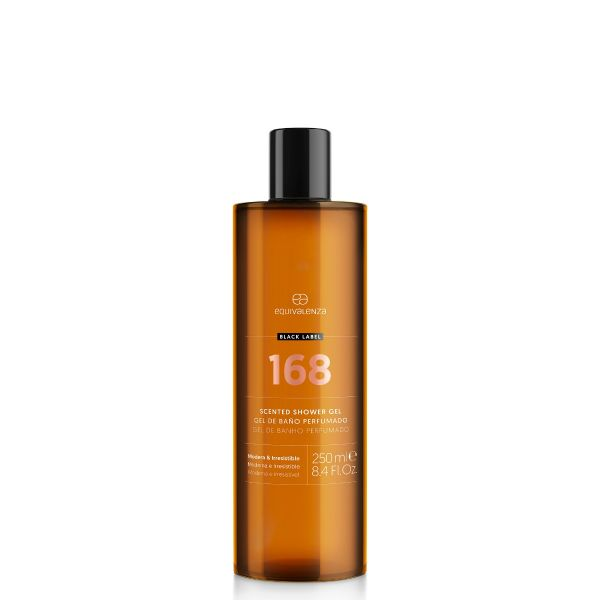 Gel de baño perfumado Black Label 168