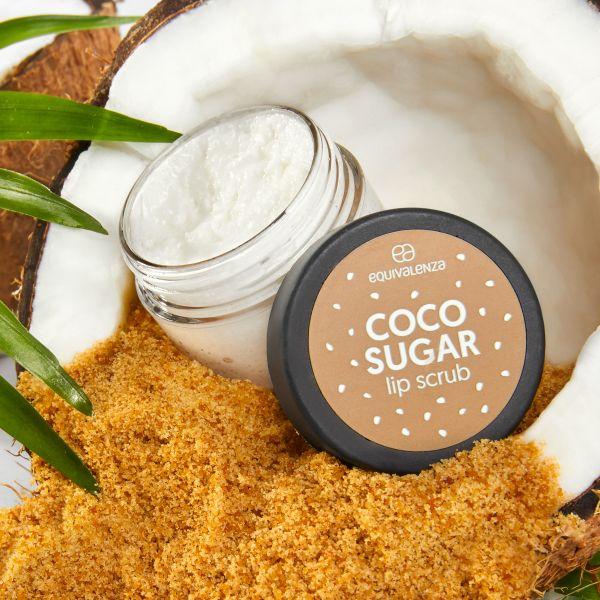 Esfoliante labial de coco