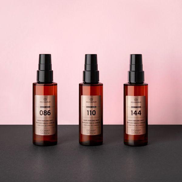 Perfume para el cabello Black Label 110