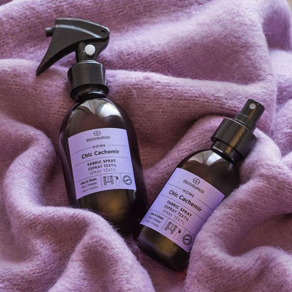 Ambientador têxtil Chic Cachemir (lilás e violeta)