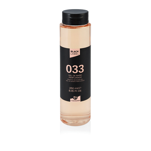 Gel de baño Black label 033