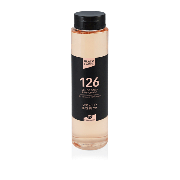 Gel douche Black Label 126