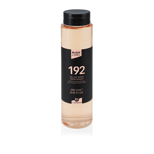 Gel de Baño Black label 192