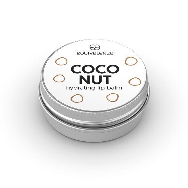 Balsamo per labbra in barattolo al cocco
