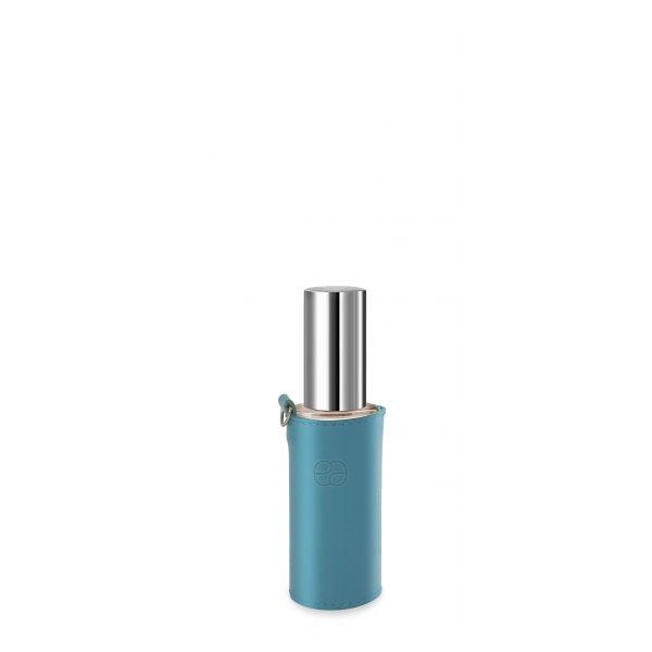 Funda decorativa azul para frascos  30ml