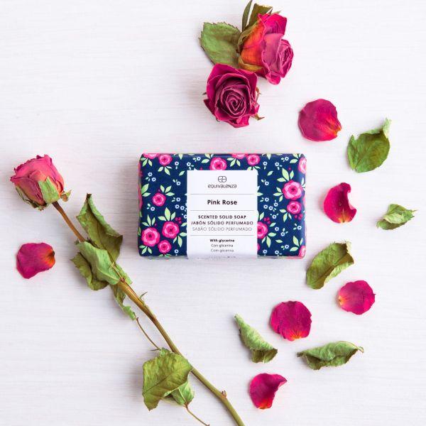 Savon parfumé : Pink Rose