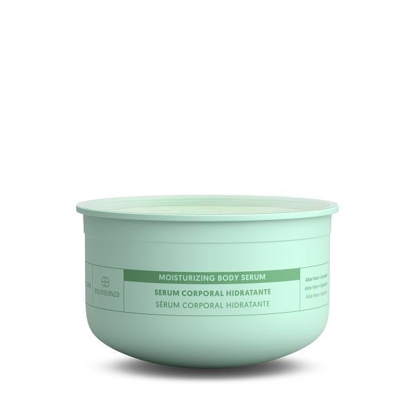 Moisturizing body serum refill