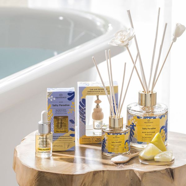 Salty Paradise water-soluble scented oil (sea salt and lemon)
