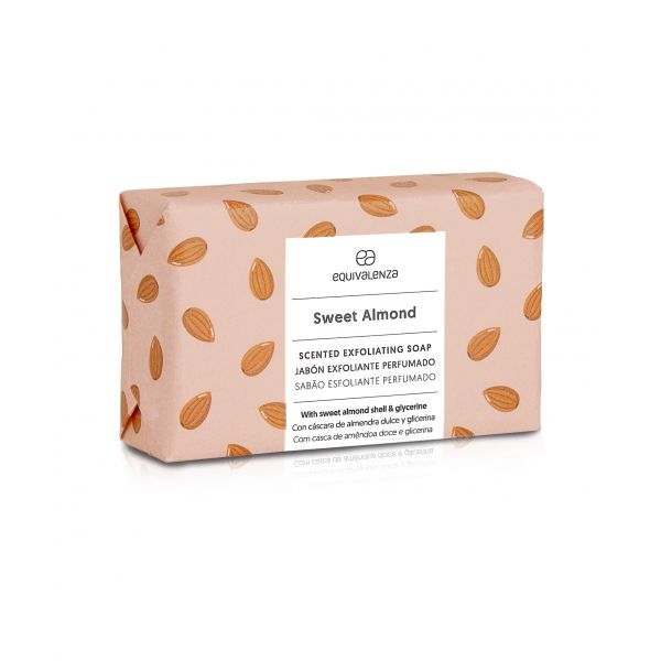 Savon exfoliant: Sweet almond