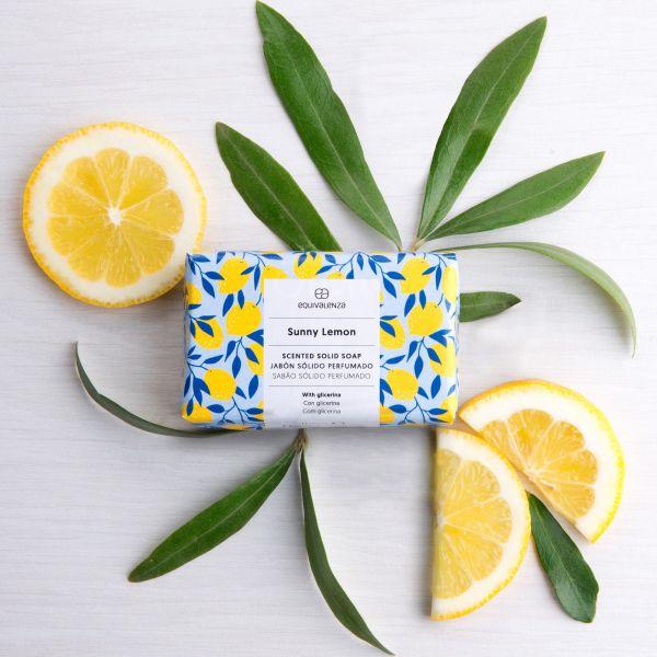 Jabón sólido: Rayos de limón